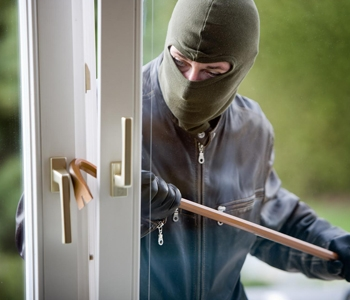 a home security system protects against burglary