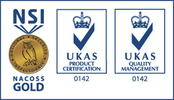 NSI Nacoss Gold logo