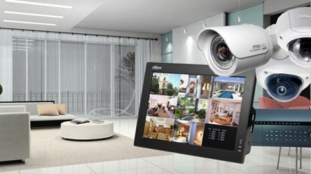 cctv cameras with monitor