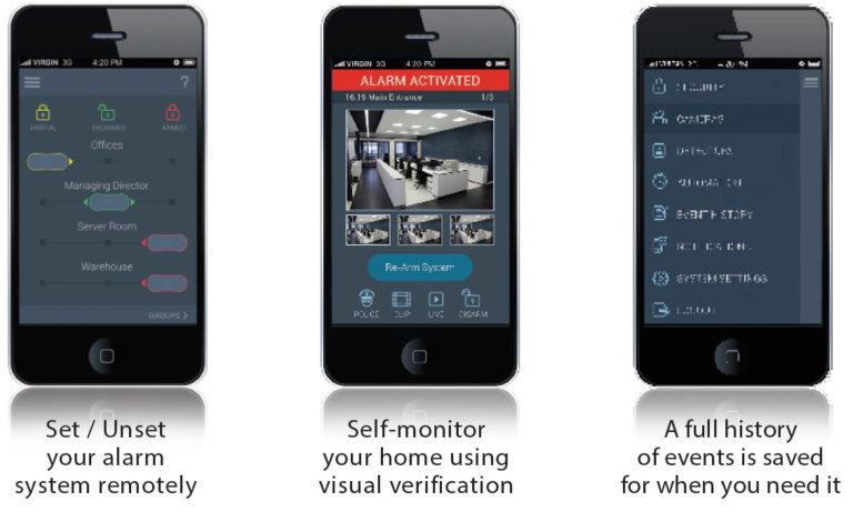 Agility smartphone screens x3