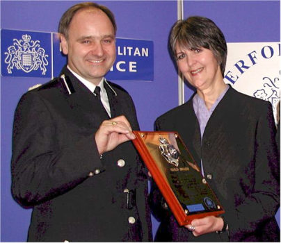 Blitz wins Met Police Gold Award