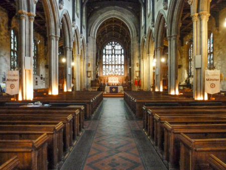 Croydon Minster - the nave